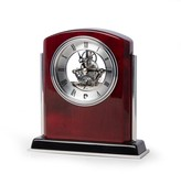Unbranded Rosewood Finished Chelsea Desk Clock