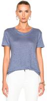 IRO Clay Tee Shirt in Blue.