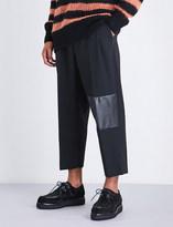McQ Taigen regular-fit wool trousers