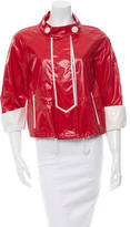 Moncler Three-Quarter Sleeve Rain Jacket