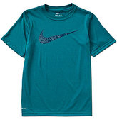 Nike Big Boys 8-20 Legend Swoosh Short-Sleeve Tee