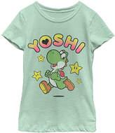 Fifth Sun Super Mario 'Yoshi' Tee - Girls