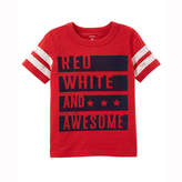 Carter's 4th Of July Graphic T-Shirt-Toddler Boys
