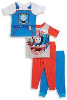 AME Sleepwear Four-Piece Thomas the Tank Pajama Set