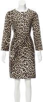Rag & Bone Leopard Print Silk Dress