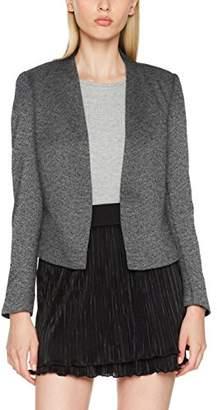 Vero Moda Women's Victoria Plain Long Sleeve Blazer, (Manufacturer Size: )