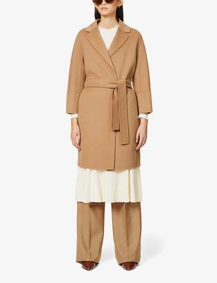 S Max Mara Arona belted wool coat