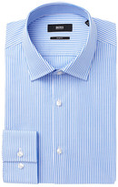 HUGO BOSS Jenno Stripe Slim Fit Dress Shirt