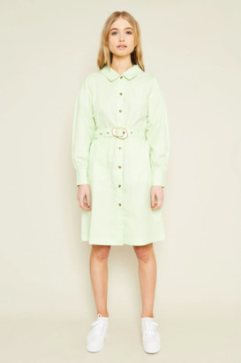 NATIVE YOUTH Mint Green Rae Dress - S .