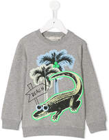 Stella McCartney croco beach print Billy sweatshirt