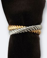 L'OBJET Four Deco Twist Napkin Rings