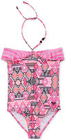 Roxy 1-Pc. Diamond Beach Swimsuit, Girls (7-16)