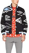 House of Holland Men's Umbro Logo Cotton Drill Bomber Jacket