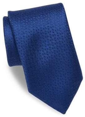 Charvet Textured Silk& Linen Tie