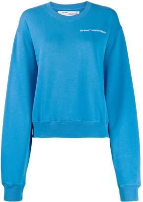 Off-White porto cervo logo sweatshirt