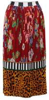 Stella Jean Pleated skirt
