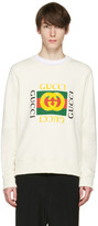Gucci Ivory Logo Pullover