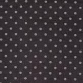 Paul Smith Men's Black Silk-Cotton Check And Polka Dot Reversible Scarf