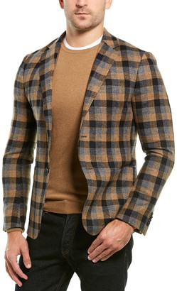 Ermenegildo Zegna Checked Wool-Blend Jacket