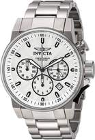 Invicta Men's 'I-Force' Quartz Stainless Steel Casual Watch, Color:-Toned (Model: 23088)