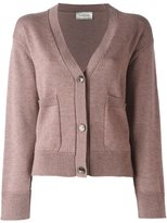 Lanvin front cropped cardigan - women - Wool/Yak - S