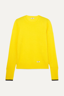 Blouse BLOUSE - Glory Cashmere And Wool-blend Sweater - Yellow