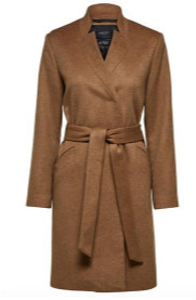Selected Mella Wool Coat Tigers Eye - 8