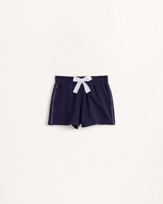 Splendid Girls Blanket Stitch Short
