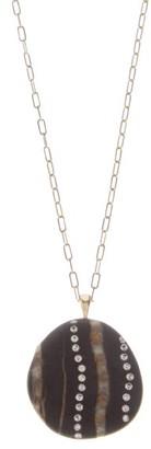 Cvc Stones Reflect Diamond & 18kt Gold Stone Necklace - Multi