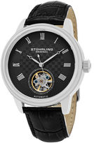 Stuhrling Original Mens Black Strap Watch-Sp15815