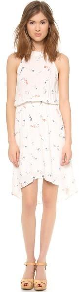 Splendid California Poppies Dress