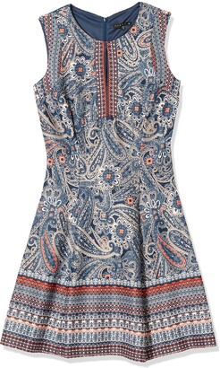 Tiana B T I A N A B. Women's Sleeveless Print fit and Flare Dress