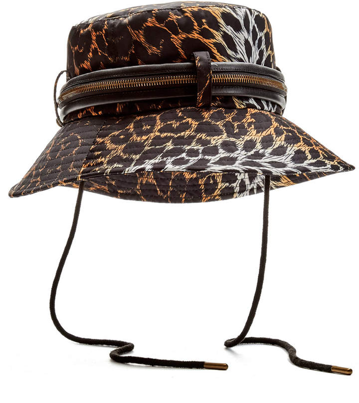 138fa1b192a22 Leather Bucket Hat - ShopStyle