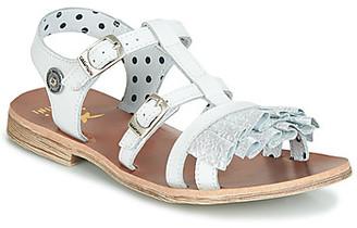 Catimini NAMAR girls's Sandals in White
