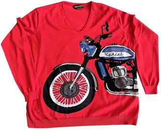 Sonia Rykiel Red Cotton Knitwear for Women