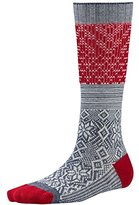 Smartwool Snowflake Flurry Womens Socks Medium Grey