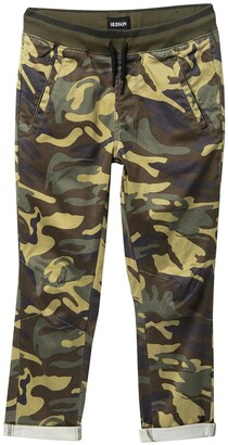 Hudson Woven Twill Camp Jogger Pants