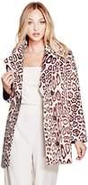 GUESS Sally Faux-Fur Coat