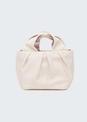 STAUD Lera Leather Top-Handle Bag