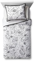 Circo Cat Chat Comforter Set - Black&White - Pillowfort
