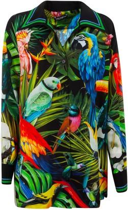 Dolce & Gabbana Parrot Printed Shirt