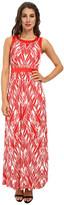 NYDJ Mikala Printed Maxi Dress