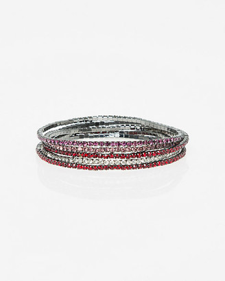 Le Château Set of Gem Stretch Bracelets