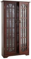 Home Decorators Collection 330-Disc Cherry Window Pane Media Cabinet