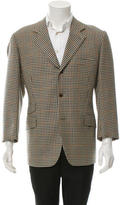 Hermes Patterned Wool Blazer