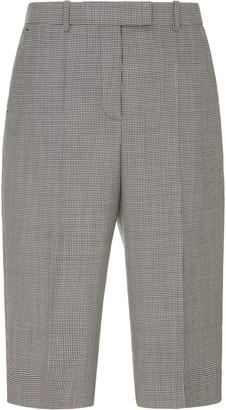 Givenchy Checked Wool Bermuda Shorts