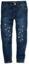 Levi's 710 Super Skinny Fit Embroidered Jeans, Toddler Girls (2T-5T)