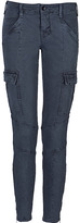 J Brand Vintage Navy Low-Rise Cargo Pants