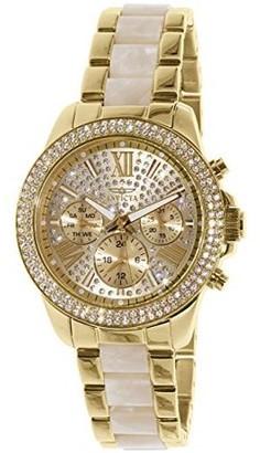 Invicta Women's Angel 20511 Gold Stainless-Steel Swiss Quartz Watch