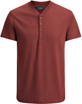 Mercerized Jersey Polo In Claret
